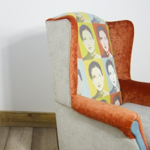 Many-Faced-Wing-back-chair-4-upcycled-furniture-junk-gypsies