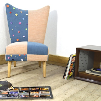 ... one of the comfiest chairs I have ever sat in! ...  sc 1 st  Upcycled Furniture from Junk Gypsies UK & The Mad Hatter - Upcycled Furniture