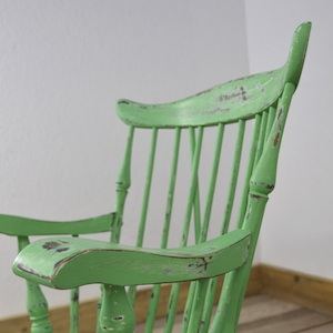 Funky Green Rocking Chair Rockstar 5 Upcycled Furniture