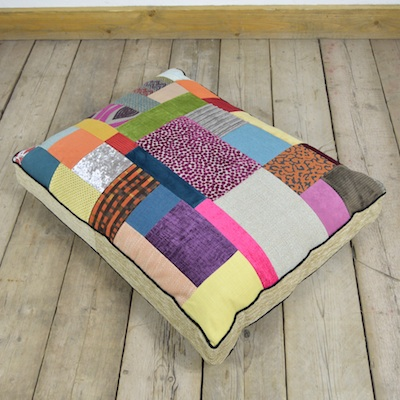 Patchwork-floor-cushion-2-Upcycled-Furniture-Junk-Gypsies